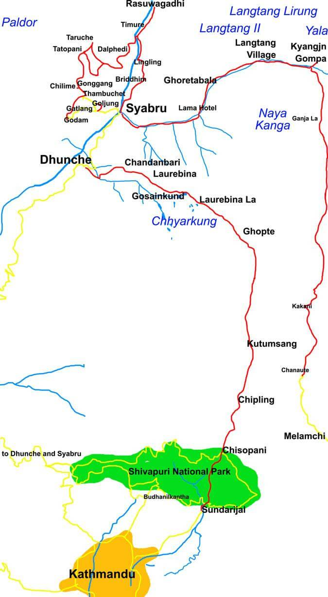 Langtang Region