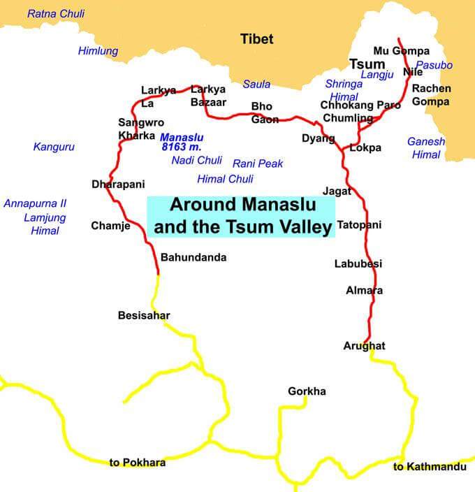 Manaslu Region